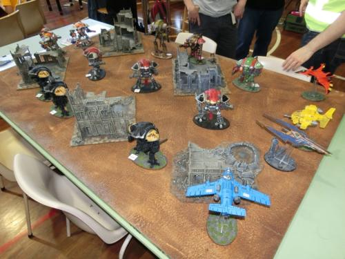 40K Knights Demonstration Game 1