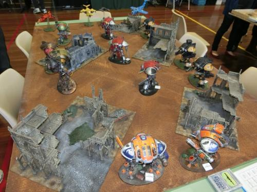 40K Knights Demonstration Game 2