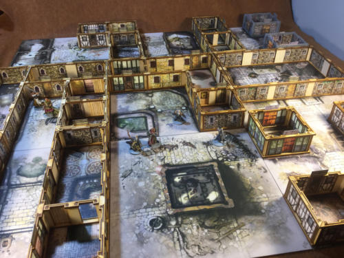 Zombicide Black Plague Demonstration Game
