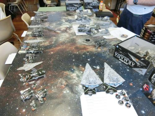 Star Wars Armada Demonstration Game 2
